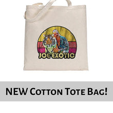 Load image into Gallery viewer, Vintage Joe Exotic The Tiger King Tote Bag Cotton Shopper 38x42cm 6445