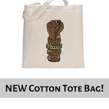 Load image into Gallery viewer, Black Lives Matter Graphic Awareness Tote Bag Cotton Shopper 38x42cm 6463