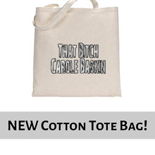 Load image into Gallery viewer, That Bitch Carole Baskin Joe Exotic Tiger King Funny Tote Bag Cotton Shopper 38x42cm 6441