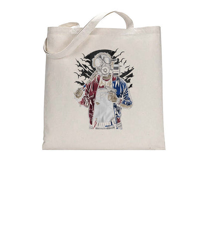 Lil Mo Apocalypse Style Graphic Fan Art Tote Bag Cotton Shopper 38x42cm 3325