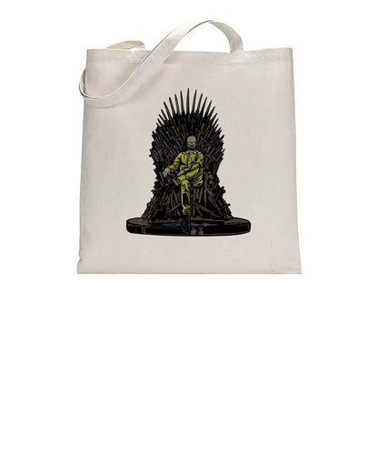 Baldy's Gamer Throne Funny Tote Bag Cotton Shopper 38x42cm 3296
