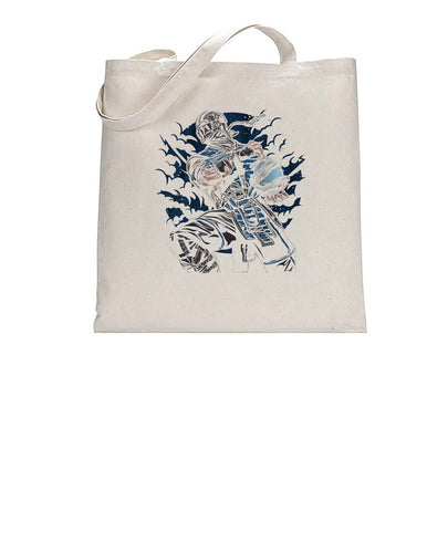 Ice Ninja Game Inspired Fan Art Gamer Tote Bag Cotton Shopper 38x42cm 3324