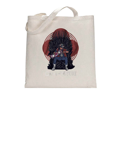 Game Of Future TV Movie Inspired Mashup Tote Bag Cotton Shopper 38x42cm 3304
