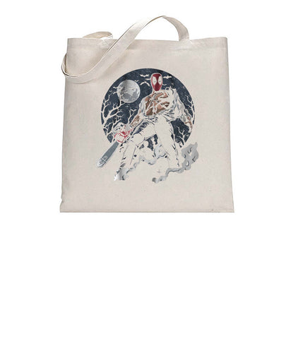 Texas DPool Chainsaw Mashup Tote Bag Cotton Shopper 38x42cm 3301