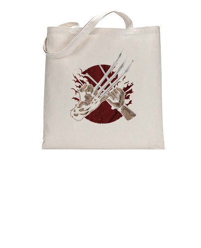 Claw Pinky Promise Comic Inspired Graphic Tote Bag Cotton Shopper 38x42cm 3308