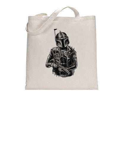 Rockstar Trooper Movie Inspired Graphic Illustration Tote Bag Cotton Shopper 38x42cm 3292