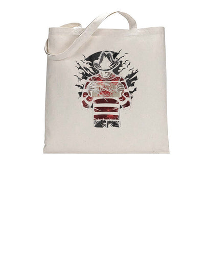 Freddy's Final Nightmare Movie Inspired Fan Art Graphic Tote Bag Cotton Shopper 38x42cm 3303