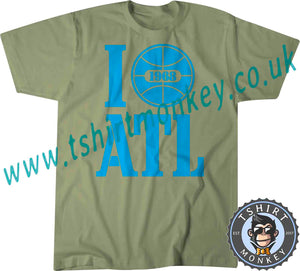 I Love ATL I Love Atlanta USA 1968 T Shirt T-Shirt Unisex Mens Kids Ladies 00001 - TeeTiger