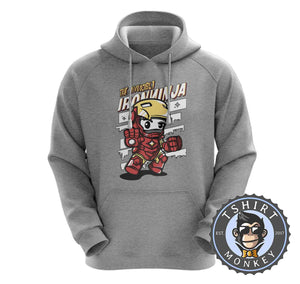 The Invincible Iron Ninja Cute Meme Cartoon Hoodies Hoodie Hoody Mens Ladies Kids Unisex 2370