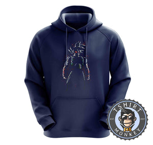 Bardock - Popular DBZ Saiyan Anime Hoodies Hoodie Hoody Mens Ladies Kids Unisex 2354