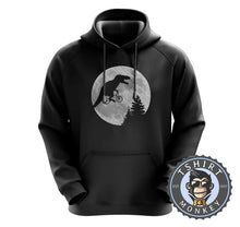 Load image into Gallery viewer, ET Meets Jurassic Park Funny Meme Mashup Hoodies Hoodie Hoody Jumper Pullover Mens Ladies Kids Unisex 1090