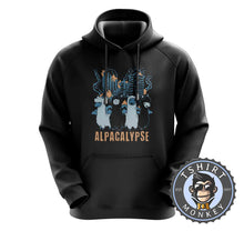Load image into Gallery viewer, Alpacalypse - Apocalypse Meme Animal Print Funny Hoodies Hoodie Hoody Jumper Pullover Mens Ladies Kids Unisex 1220