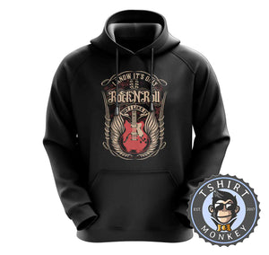 It's Only Rock N Roll But I Like It Music Inspired Guitar Vintage Hoodies Hoodie Hoody Jumper Pullover Mens Ladies Kids Unisex 1234