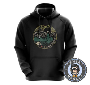 I Hate People Vintage Hoodies Hoodie Hoody Jumper Pullover Mens Ladies Kids Unisex 0344