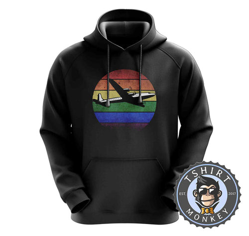Vintage Airplane Graphic Illustration Hoodies Hoodie Hoody Mens Ladies Kids Unisex 1550