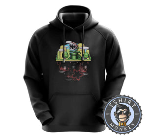 Light and Dark Hoodies Hoodie Hoody Jumper Pullover Mens Ladies Kids Unisex 2925