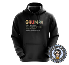 Load image into Gallery viewer, Grumpa - Funny Grandpa Vintage Graphic Hoodies Hoodie Hoody Jumper Pullover Mens Ladies Kids Unisex 1156