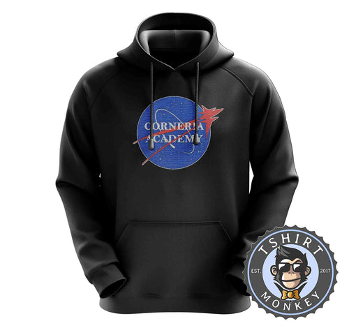 Corneria Academy - Game Inspired Star Fox NASA Meme Gamer Hoodies Hoodie Hoody Jumper Pullover Mens Ladies Kids Unisex 1322