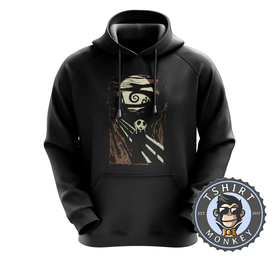 Jack Screams Halftone Hoodies Hoodie Hoody Jumper Pullover Mens Ladies Kids Unisex 2852