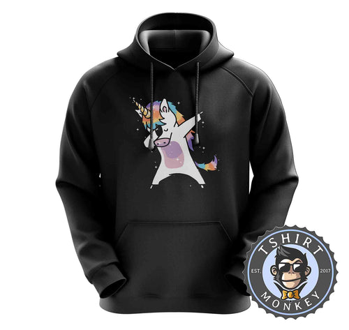 Dabbing Cool Unicorn Cute Hoodies Hoodie Hoody Jumper Pullover Mens Ladies Kids Unisex 1417
