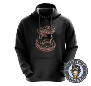 Snake Tattoo Inspired Hoodies Hoodie Hoody Jumper Pullover Mens Ladies Kids Unisex 0241