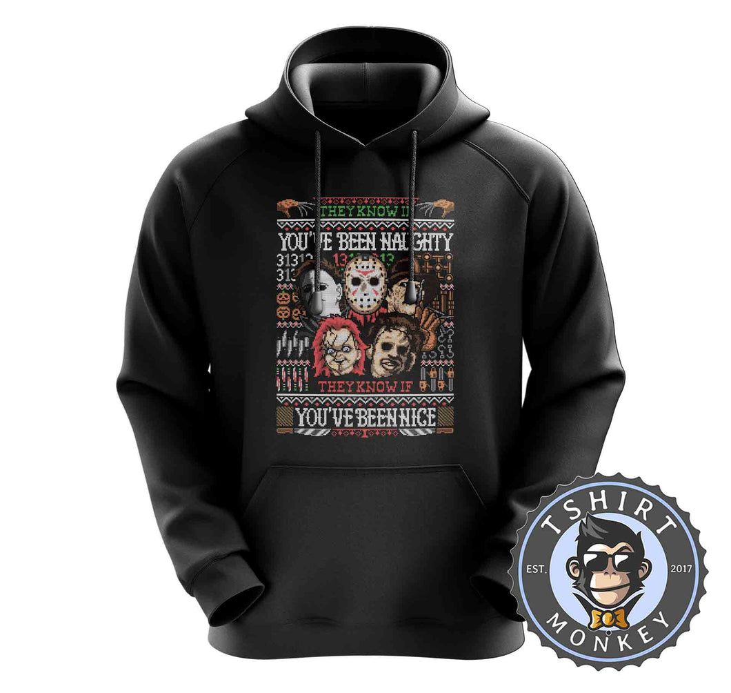 You have Been Naughty Ugly Sweater Hoodies Hoodie Hoody Jumper Pullover Mens Ladies Kids Unisex 3003
