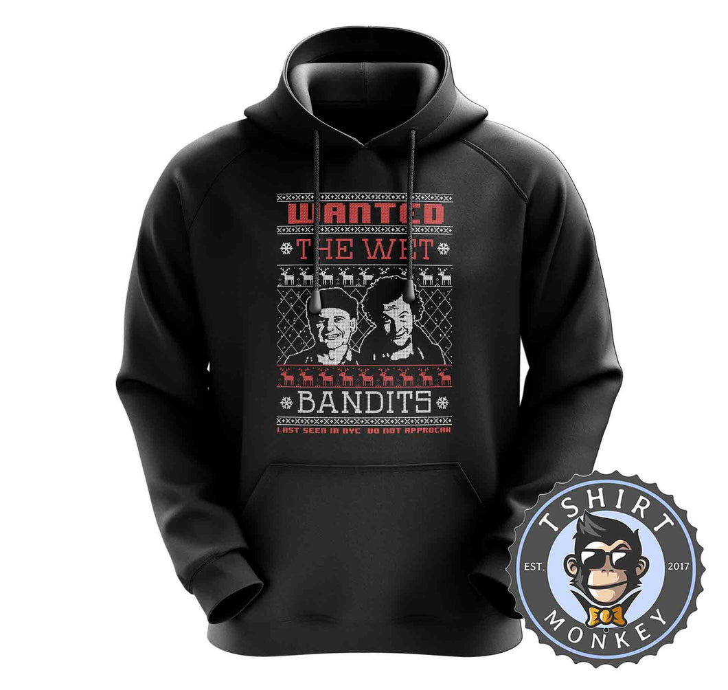 Wet Bandits Ugly Sweater Christmas Hoodies Hoodie Hoody Jumper Pullover Mens Ladies Kids Unisex 1677
