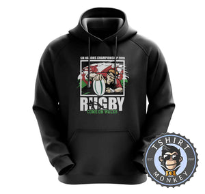 Rugby | Come on Whales Hoodies Hoodie Hoody Jumper Pullover Mens Ladies Kids Unisex 0096
