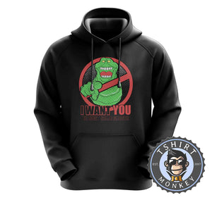 Slimer - I Want You To Bust Some Ghosts Movie Inspired Hoodies Hoodie Hoody Jumper Pullover Mens Ladies Kids Unisex 1188