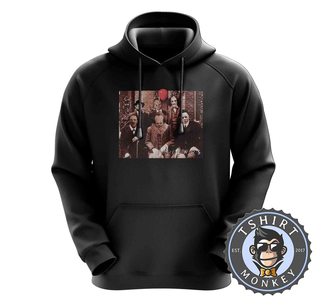 Friends Halloween Movie Inspired V3 Meme Funny Hoodies Hoodie Hoody Jumper Pullover Mens Ladies Kids Unisex 1140