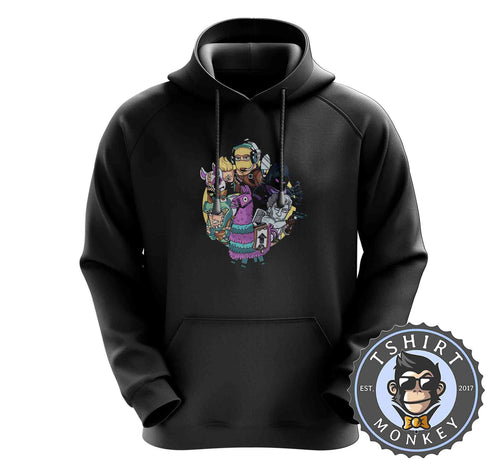 The Battle Squad Game Inspired Cute Gamer Hoodies Hoodie Hoody Jumper Pullover Mens Ladies Kids Unisex 1423