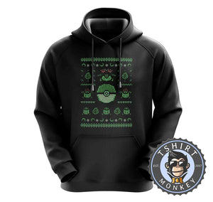 Bulbasaur Ugly Sweater Hoodies Hoodie Hoody Jumper Pullover Mens Ladies Kids Unisex 2904