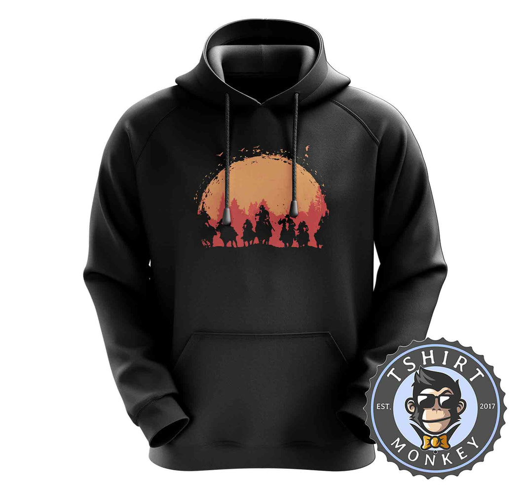 Red Dead Redemption Game Inspired Vintage Cowboy Hoodies Hoodie Hoody Jumper Pullover Mens Ladies Kids Unisex 1200