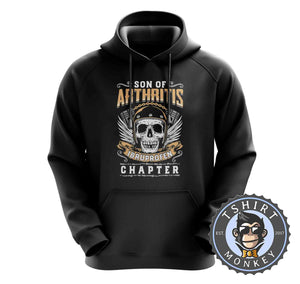 Skull With Wings Sons of Arthritis Inspired Hoodies Hoodie Hoody Jumper Pullover Mens Ladies Kids Unisex 0051
