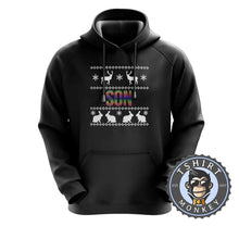 Load image into Gallery viewer, Son Rainbow Ugly Sweater Christmas Hoodies Hoodie Hoody Jumper Pullover Mens Ladies Kids Unisex 1664