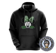 Load image into Gallery viewer, Peeking Minnie Hoodies Hoodie Hoody Jumper Pullover Mens Ladies Kids Unisex 0264