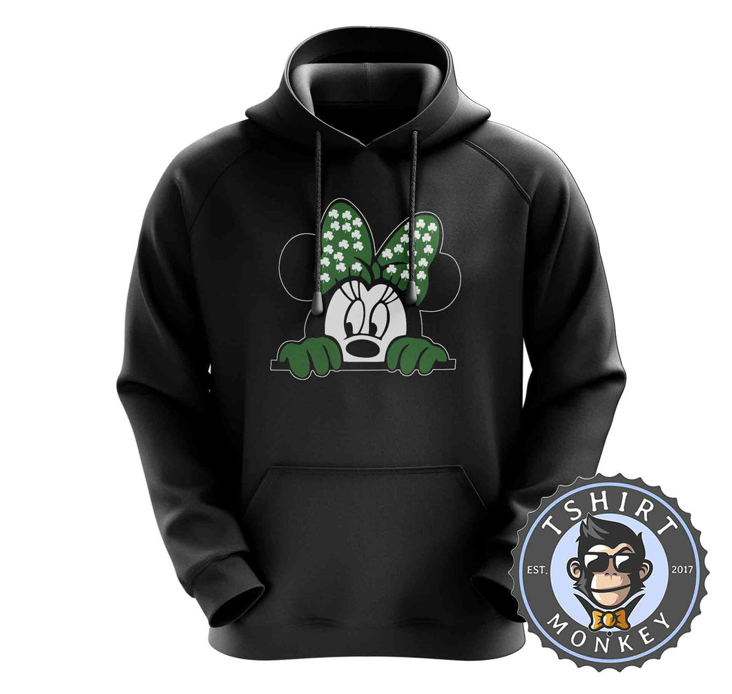 Peeking Minnie Hoodies Hoodie Hoody Jumper Pullover Mens Ladies Kids Unisex 0264