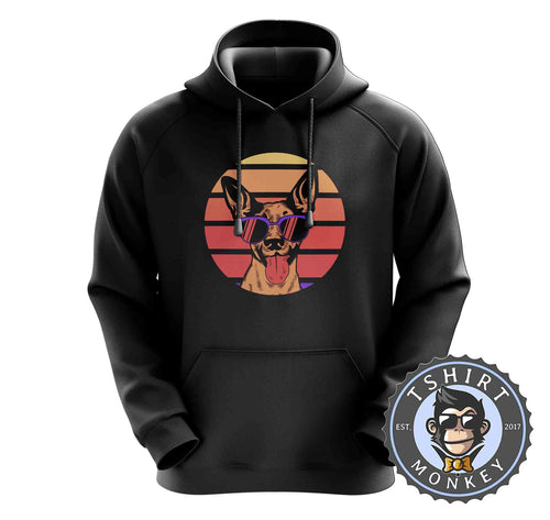 Vintage Cool Dog Graphic Hoodies Hoodie Hoody Mens Ladies Kids Unisex 1569