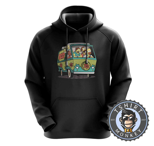 Funny Brewery Machine The Simpsons Beer Drinking Cartoon Hoodies Hoodie Hoody Jumper Pullover Mens Ladies Kids Unisex 1461