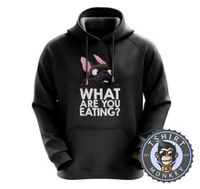 Load image into Gallery viewer, What Are You Eating - Pug Dog Funny Statement Hoodies Hoodie Hoody Jumper Pullover Mens Ladies Kids Unisex 1065