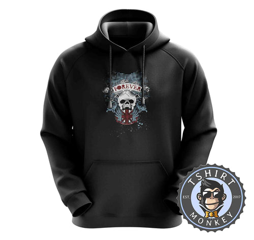 Skulls and Flag Custom Hoodies Hoodie Hoody Jumper Pullover Mens Ladies Kids Unisex 0419