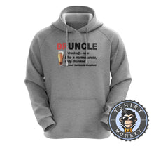 Load image into Gallery viewer, Druncle - Not Your Normal Uncle Hoodies Hoodie Hoody Jumper Pullover Mens Ladies Kids Unisex 0292