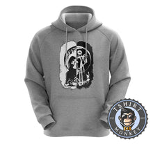 Load image into Gallery viewer, Black And White Nightmare Before Christmas Halloween Hoodies Hoodie Hoody Jumper Pullover Mens Ladies Kids Unisex 1059