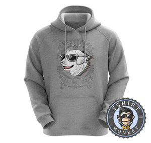 Everything Will Be Ok - Cool Dog Graphic Hoodies Hoodie Hoody Jumper Pullover Mens Ladies Kids Unisex 1209