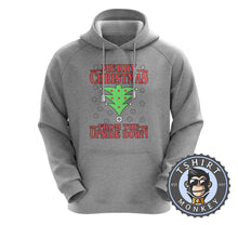 Load image into Gallery viewer, Upside Down Christmas Hoodies Hoodie Hoody Jumper Pullover Mens Ladies Kids Unisex 1668