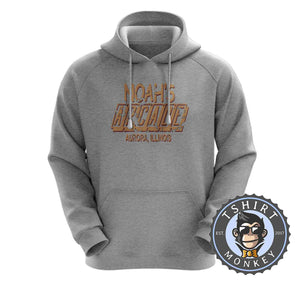 Noah's Arcade - Wayne's World Movie Inspired Vintage Hoodies Hoodie Hoody Jumper Pullover Mens Ladies Kids Unisex 1294