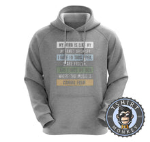 Load image into Gallery viewer, I Have No Idea Where the Music is Coming From Hoodies Hoodie Hoody Jumper Pullover Mens Ladies Kids Unisex 2930