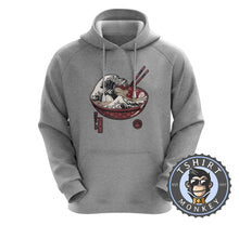 Load image into Gallery viewer, The Wave of Ramen Hoodies Hoodie Hoody Jumper Pullover Mens Ladies Kids Unisex 2927