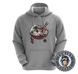 The Wave of Ramen Hoodies Hoodie Hoody Jumper Pullover Mens Ladies Kids Unisex 2927