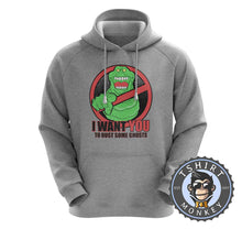 Load image into Gallery viewer, Slimer - I Want You To Bust Some Ghosts Movie Inspired Hoodies Hoodie Hoody Jumper Pullover Mens Ladies Kids Unisex 1188
